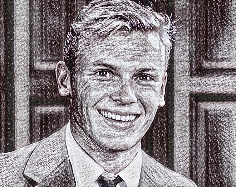 Tab Hunter by AFeatherInMyCap